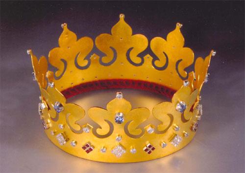 Корона царя для мальчиков своими руками